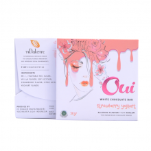 OUI White Chocolate Strawberry Yogurt